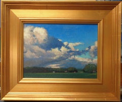 Impressionistic Landscape Painting Michael Budden Summer Skies