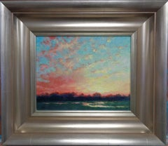 Impressionistic Landscape Painting Michael Budden Sunrise Sensation