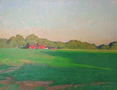 Impressionistic Landscape Painting Michael Budden That Magical Moment