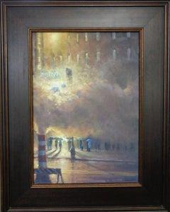 New York City Evening Theater Painting  by Michael Budden Phantom of the Opera