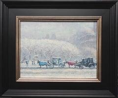 New York City Landscape Oil Painting Michael Budden Central Park