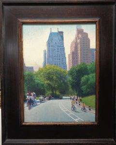 New York City Oil Painting Michael Budden Summertime Central Park