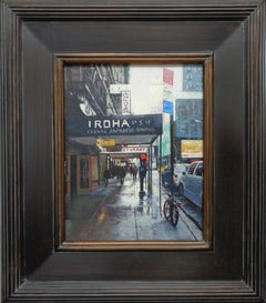 New York City Street Scene Oil Painting Michael Budden Visual Variations
