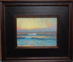 Ocean Beach Seascape Study Oil Painting  by Michael Budden Sunrise Series