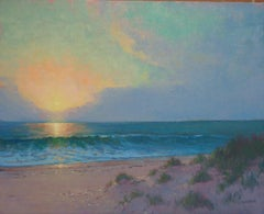 Ocean Impressionistic Seascape Painting Michael Budden Magical Moment