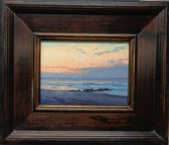 Seascape Study Contemporary Oil Painting Peaceful Place by Michael Budden