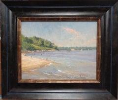 Seascape Painting American Impressionist Paul Bachem
