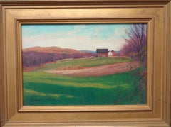 "Vermont Landscape Oil Painting by Michael Budden ""On A Clear Day"""
