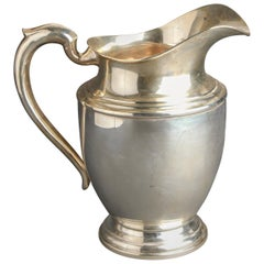 Michael C. Fina Co. Inc. American Sterling Silver Water Pitcher