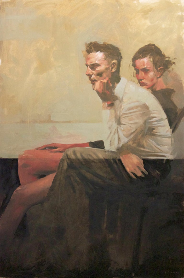 """""""In Deep"""" - Painting by Michael Carson"""