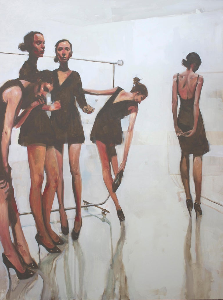 """In the White Room"" - Painting by Michael Carson"