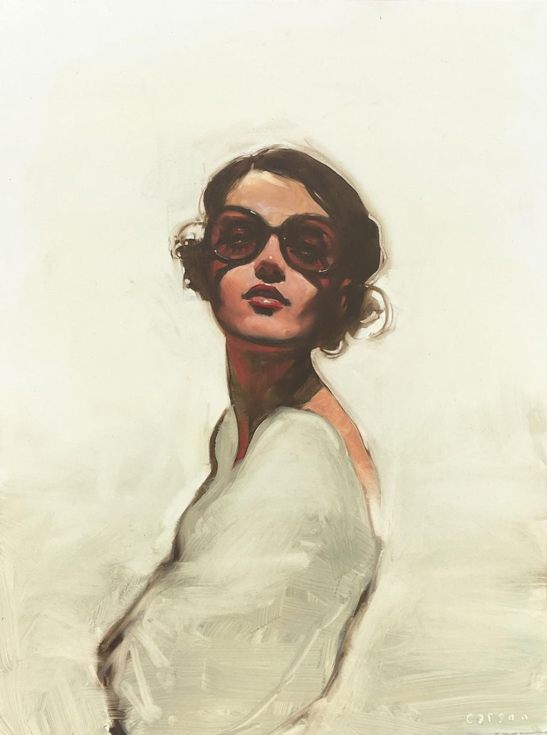 """""""Rose"""" - Painting by Michael Carson"""