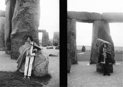 Keith Richards & Mick Jagger, Stonehenge, 1967