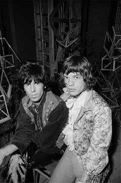 Keith Richards and Mick Jagger, Rolling Stones, 1967