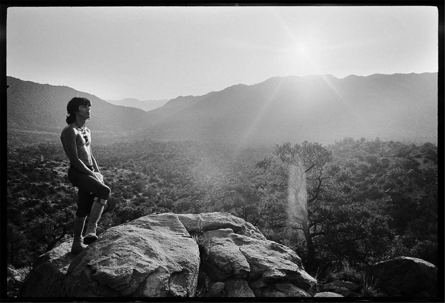 Keith Richards, Sunrise in Joshua Tree