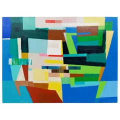 "Michael Costantini Contemporary Abstract Painting ""The United States of America"""