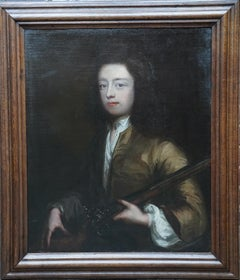 Old Master Portrait of a Gentleman - British 18th century oil painting