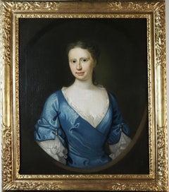 Portrait of Mrs Thomas Hext, née Gertrude Hawkings (1698-1786)