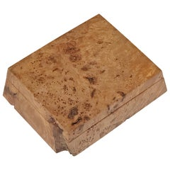 Michael Elkan Burled Wood Box