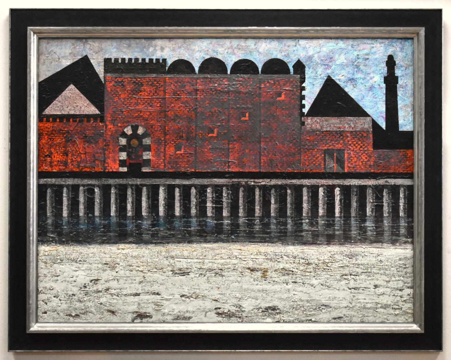 """ RED PALACE TUNIS ""  MID CENTURY MODERN"