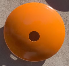 Terrace Disc, large light orange