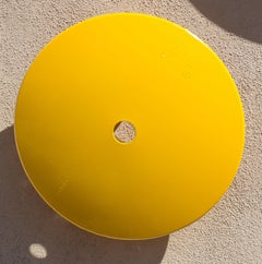 Terrace Disc, lemon yellow