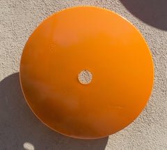 Terrace Disc, light orange