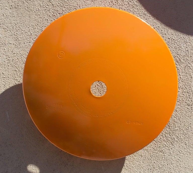 Terrace Disc, light orange