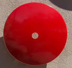 Terrace Disc, red orange