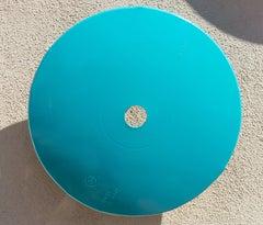 Terrace Disc, teal