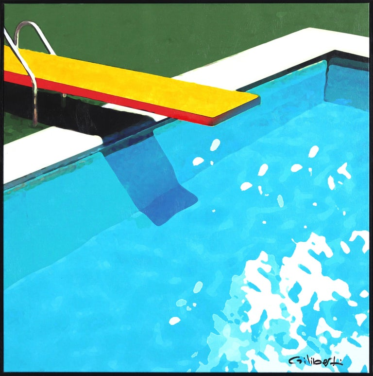 Dive Into Summer - Mixed Media Art by Michael Giliberti