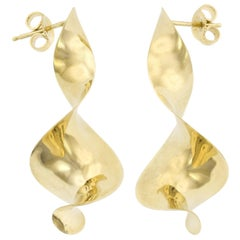 Michael Good 18 Karat Yellow Gold Earrings