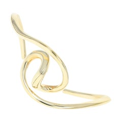 Michael Good Cuff Bracelet, 18 Karat Yellow Gold Contemporary Design