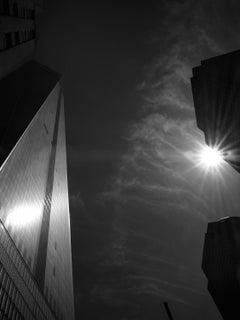 Skyline in Light - contemporary black&white New York City landscape photography