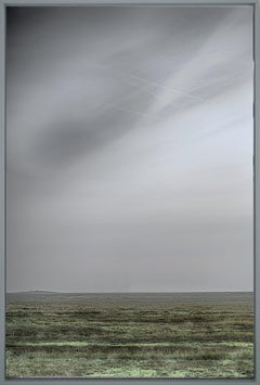 Wide End - contemporary landscape photography of open land with grey skies