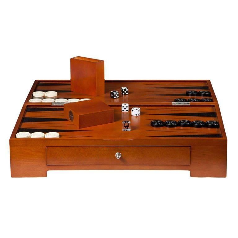 Michael Graves Backgammon Game Set, circa 2000 For Sale