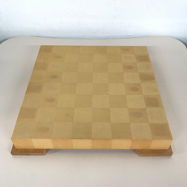 American Michael Graves Postmodern Chess and Checkers Set, Signed For Sale