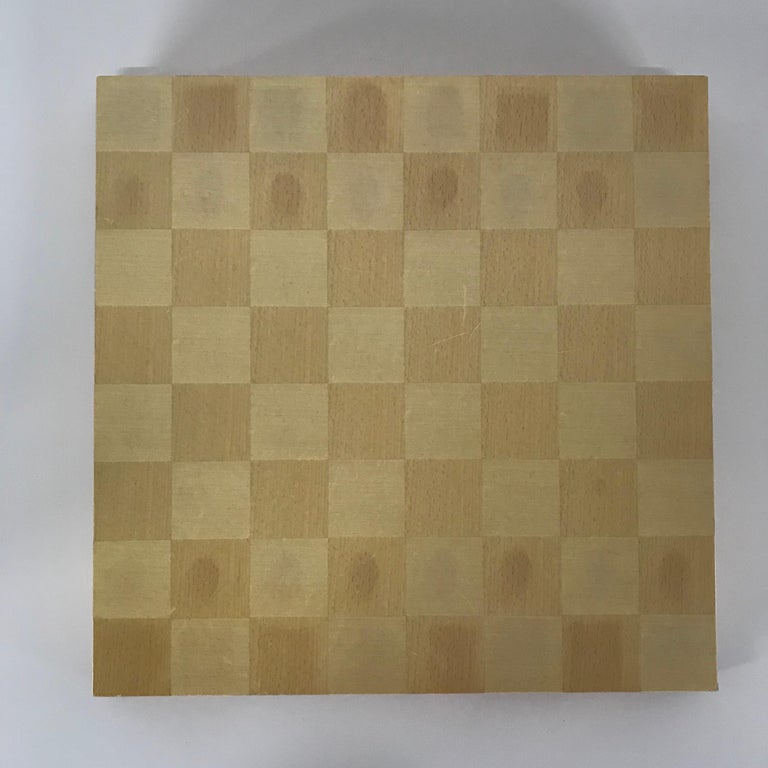 Michael Graves Postmodern Chess and Checkers Set, Signed In Excellent Condition For Sale In Miami, FL