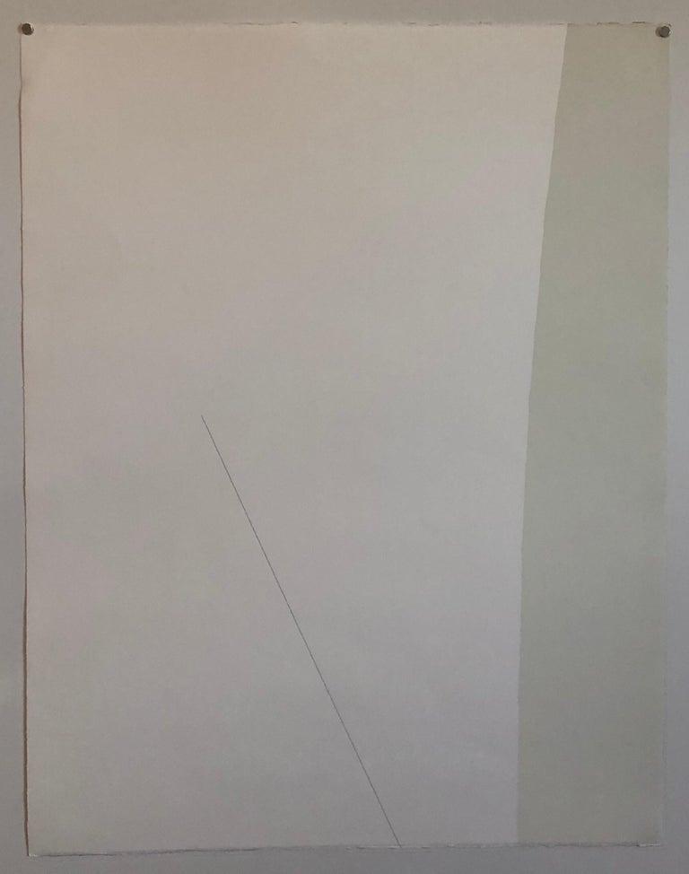 Michael Gross Israeli Minimalist Conceptual Art, Abstract Jerusalem Silkscreen  For Sale 2