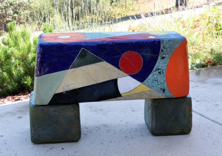 Organic Modern Michael Gustavson Ceramic Indoor/Outdoor