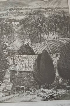 Italian Summer, Framed Etching by Michael Chapman