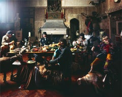 Rolling Stones, Beggars Banquet, Keith with Orange, London, 1968