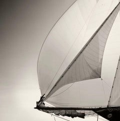 The Bowman by Michael Kahn. Black and white nautical photograph.
