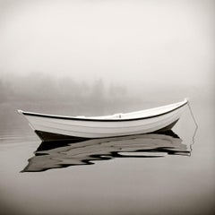 Wild Rose by Michael Kahn. Black and white nautical photograph. 14 x 14 inches.