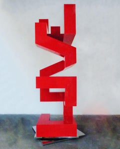 The Art of Finding Love vertical - red and chrome