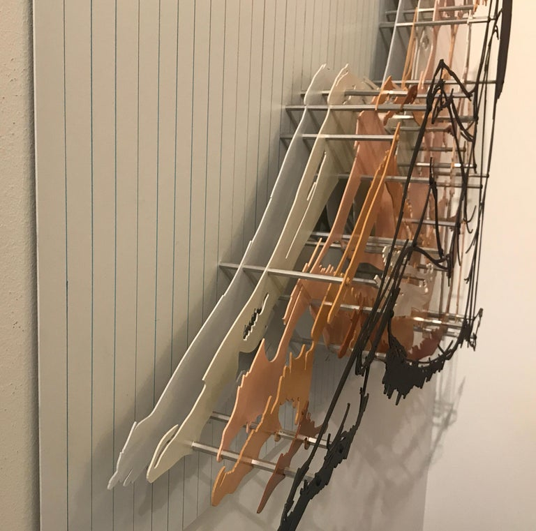 Astrid - Abstract Sculpture by Michael Kalish