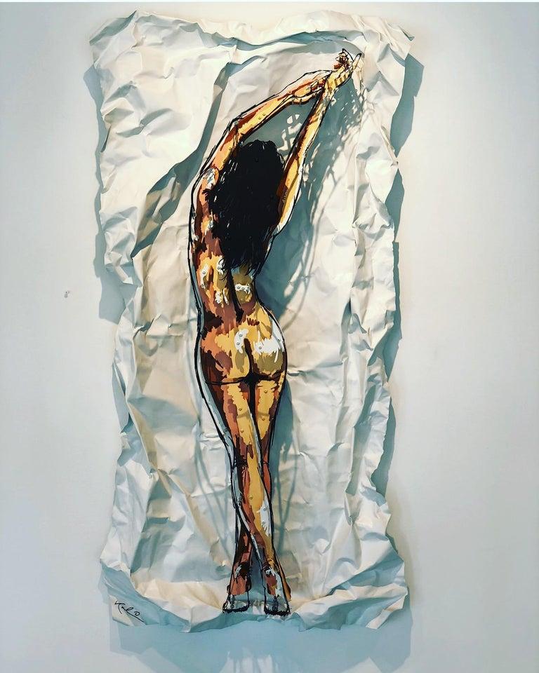 Michael Kalish, Ava - Sculpture by Michael Kalish