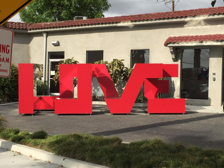 The Art of Finding Love - Monumental - Contemporary Sculpture by Michael Kalish