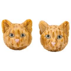 Michael Kanners Cat Cufflinks