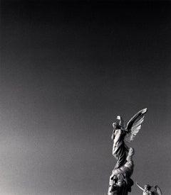 Ange Tranquil au Ciel, Cimetiere du Chateau, Nice, France